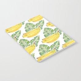 Banana Bunch – Green Leaves Notebook