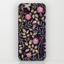 William Morris Sweet Briar Floral Art Nouveau iPhone Skin