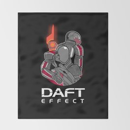 Daft Effect Throw Blanket