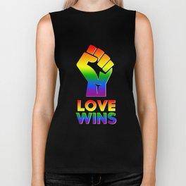 Love Wins - LGBT Biker Tank