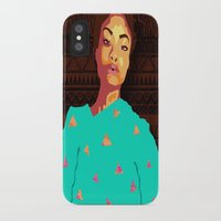 girly iPhone & iPod Cases featuring Girly by UnifiedGlory