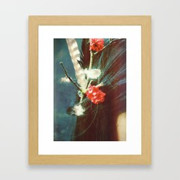 Wild Thing (I love you) Framed Art Print