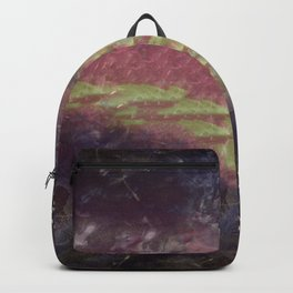 Broken Light Typography Backpack