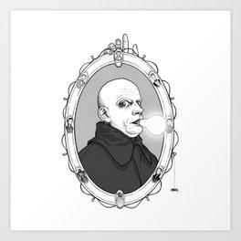 Uncle Fester Art Print
