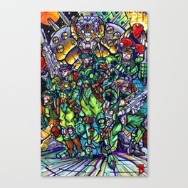 The Elite Canvas Print