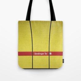 Munich U-Bahn Memories - Sendlinger Tor Tote Bag