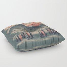 Mountain Goat Drifter... Floor Pillow