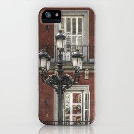 Ancient Madrid #3 iPhone Case