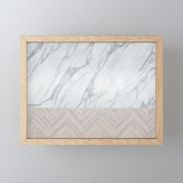 Marblewood Framed Mini Art Print