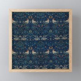 "William Morris ""Bird"" Framed Mini Art Print"