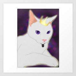 Royalty Cat Art Print