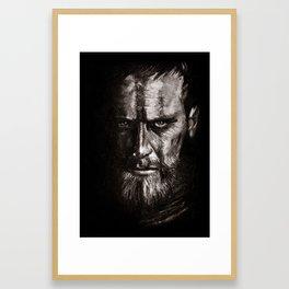 Black Desires Framed Art Print