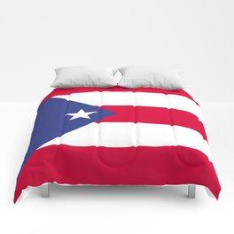 Puerto Rico flag emblem Comforters