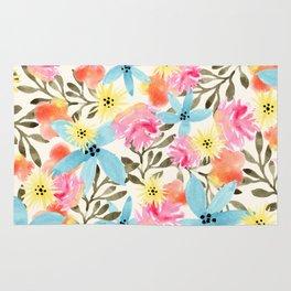 Paradise Floral Print Rug