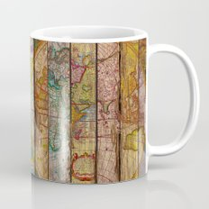 Around the World in Thirteen Maps Mug