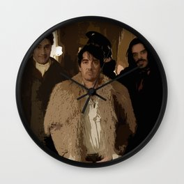 What We Do in the Shadows 2 Wall Clock