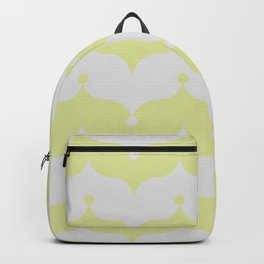 gold and silver clown onions Backpack