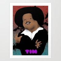 The Great Tim Maia Art Print