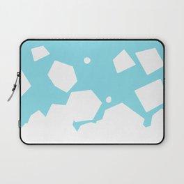 Rockery on Blue Laptop Sleeve