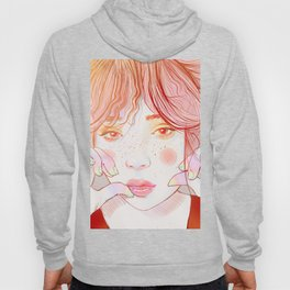 Colorful face Hoody