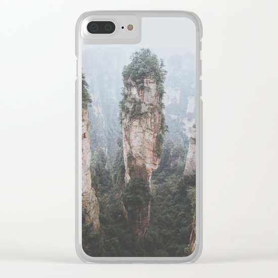 Zhangjiejia National Forest Park Clear iPhone Case