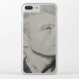 James Dea n Clear iPhone Case
