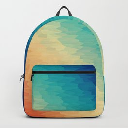 Warm to Cool Texture Backpack
