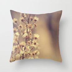 Sunday flowers Throw Pillow
