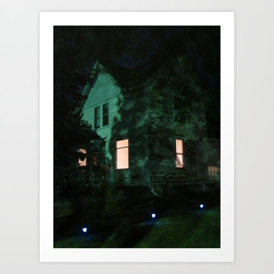 Quite The Weathered House Art Print