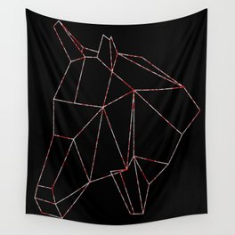 Horse Lines Wall Tapestry