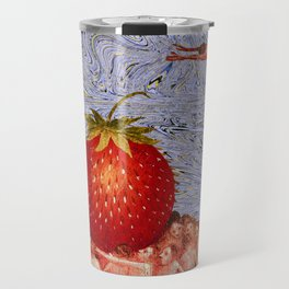 Strawberry in Mind. Travel Mug