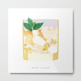 Cocktail Hour: Mint Julep Metal Print