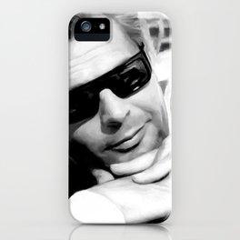 Marcello Mastroianni Portrait iPhone Case