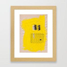 EYEZ II Framed Art Print