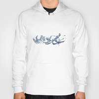 calligraphy Hoodies featuring Calligraphy by Margheritta