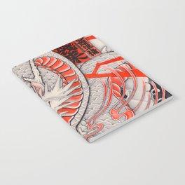 Japanese tattoo Typhoon dragon Notebook