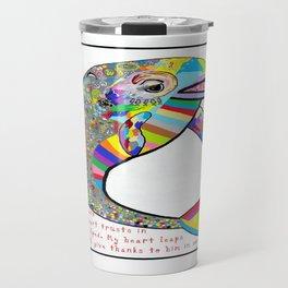 The Lord is my Strength Travel Mug