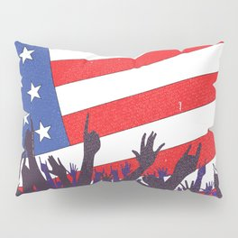 Stars And Stripes Audience Pillow Sham