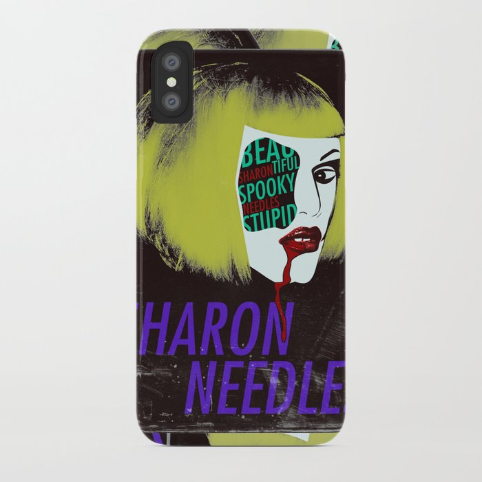 Sharon Needles Poster iPhone Case