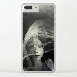 Top of t Lake Clear iPhone Case