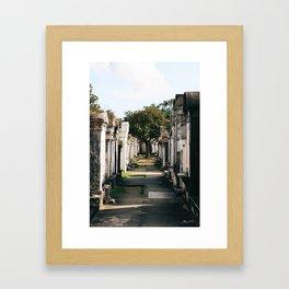 Lafayette Cemetery #1 Framed Art Print