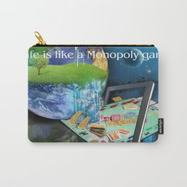 Life is like a Board Game Carry-All Pouch