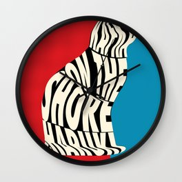 Kafka on the Shore by Murakami Wall Clock