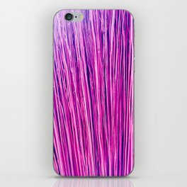 Purple Brushwood Photography iPhone Skin