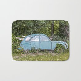 Lost car in France - Parked for eternity II Bath Mat