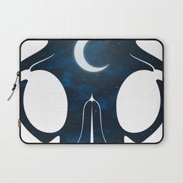 Night Skull Laptop Sleeve