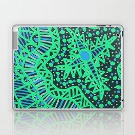 Doodle 16 Blue Laptop & iPad Skin