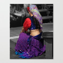 Belly Dancer Canvas Print