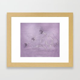 Are you screw? Framed Art Print
