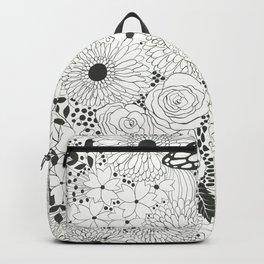 Monarch butterfly garden Backpack